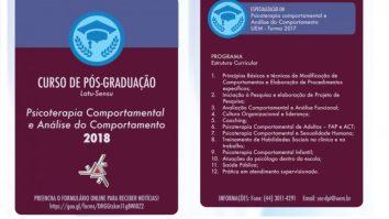 Pós Graduação em Análise do Comportamento na UEM 15