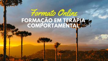 Formação em Terapia Comportamental (adultos) - ONLINE 11