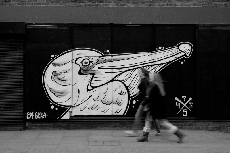 East London street photography