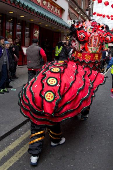 Chinese NY dragon