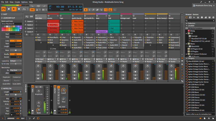 interface bitwig