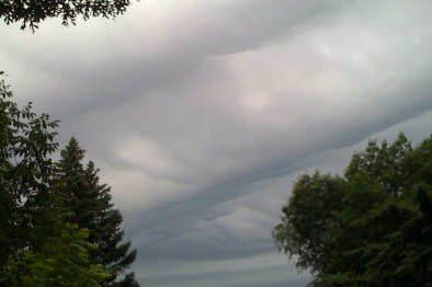 Thick Clouds ©2011 Lynn Emberg Purse, All Rights Reserved