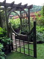 Entrance to kitchen garden