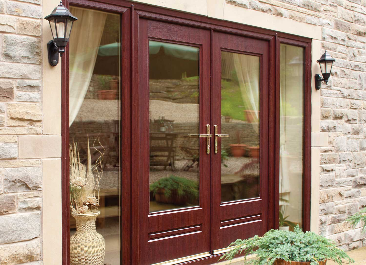 Composite French Doors Leeds, Horsforth  Composite French