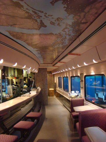 Amtrak Cascades Bistro