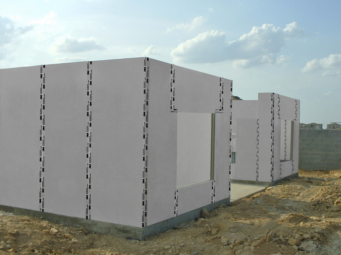 Composite Structural Insulated Panel Wall System