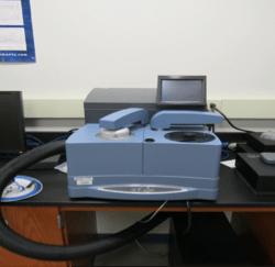 Photo of Differential Scanning Calorimeter Q2000
