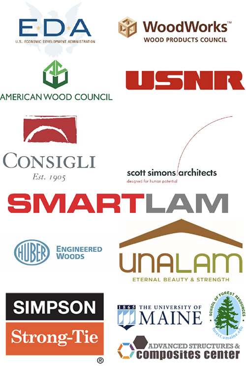 The Maine Mass Timber Event Sponsors and Exhibitors