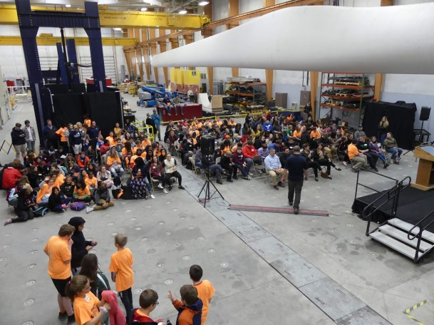 Photo of the Closing Ceremony for the Windstorm Challenge