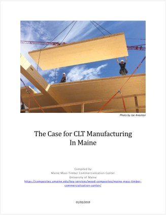 Case for CLT in Maine Report Cover