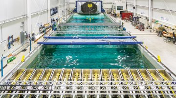 Photo of the W2 Ocean Engineering Lab