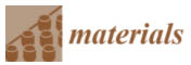 Materials journal logo
