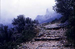 Pilgrimage Road at Saint Guilhem le Désert