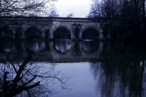 The Tours Road to Compostela at the Fontenay Bridge