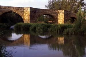 Rio Cea Bridge Sahagún