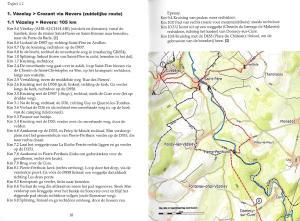 Pelgrimsweg van Vézelay naar St. Jean-Pied-de-Port - Variant via Nevers (Via Lemovicensis) - binnenbladzijden