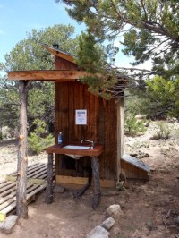 outhouse sink - Composting Toilets