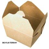 Bio-Plus Terra® II Fold-Pak PLA Lined Paper Containers for Hot or Cold Foods