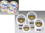 AJM Packaging Corporation Gold Label Clay Coated Paper Plates