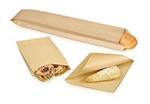 Bagcraft Papercon EcoCraft® Grease Resistant Sandwich, Pastry/Cookie Bags and Baguette Bread
