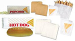McNairn Packaging Grease Resistant, Wax Coated, Natural and Bleached Kraft Deli Bags