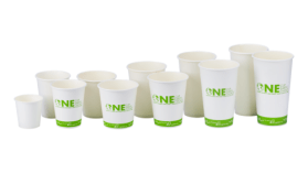 Lollicup USA, Inc. Karatearth PLA Lined Paper Hot Cups