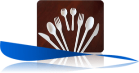 EcoKloud CPLA Corn Based Utensils