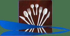 EcoKloud CPLA Corn Based Utensils