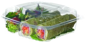 Eco-Products 3-Compartment Clamshell