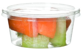 Eco-Products Round Deli Container – Clear PLA
