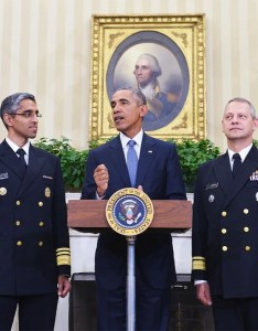 President barack obama surrounded by officials in the oval office of white house washington   sept also   military budget is still one biggest ever rh slate