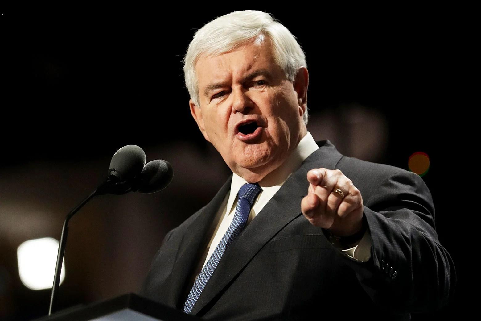 Speaker Newt Gingrich S Plane Ride President Bill Clinton