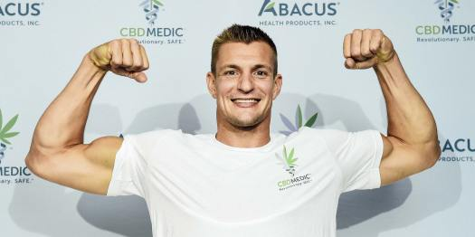 Rob Gronkowski retired from the NFL and became a CBD ...