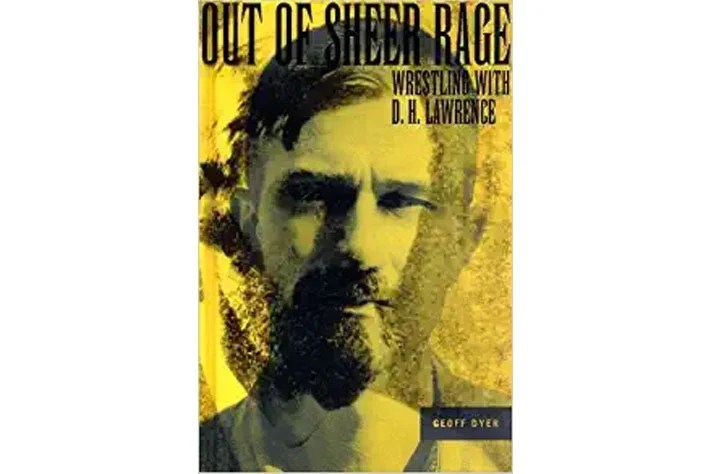 Out of Sheer Rage book cover.