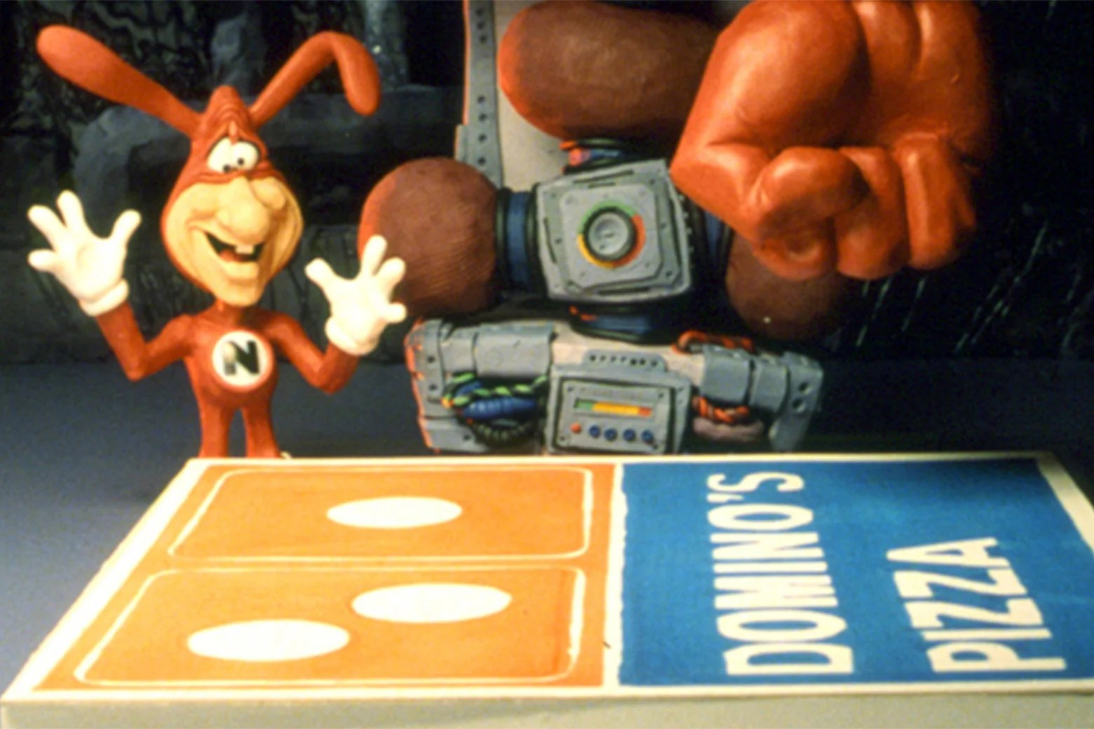 Studio 360s oral history of the Noid Dominos Pizzas infamous 80s mascot