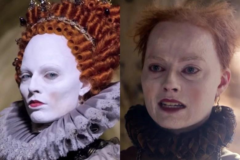 Wild Queen Elizabeth I Makeup