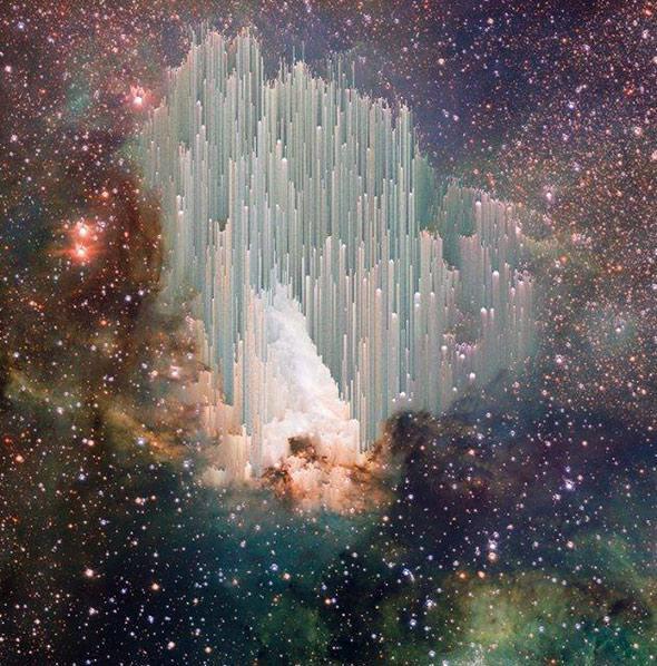 cosmic ice sculptures photo