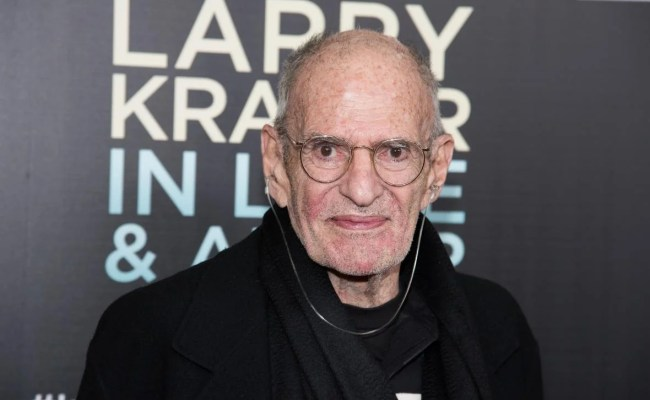 Larry Kramer Responds To Hillary Clinton S Nancy Reagan