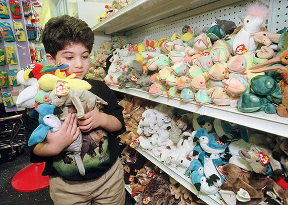beanie babies bubble economics