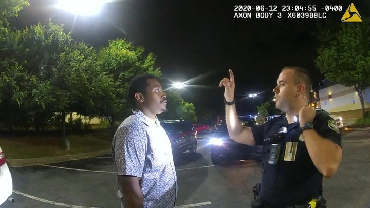 Rayshard Brooks: Bodycam, dashcam footage shows moments leading to ...