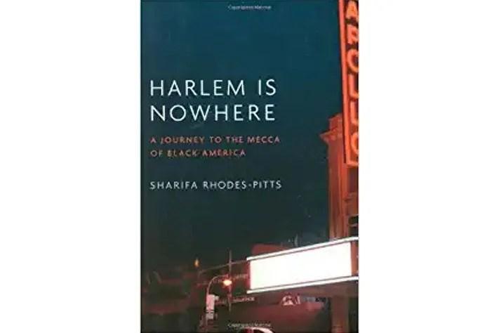 Harlem Is Nowherebook cover.