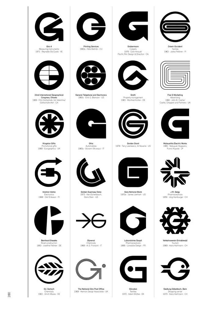 Logo Modernism is a brilliant catalog of corporate