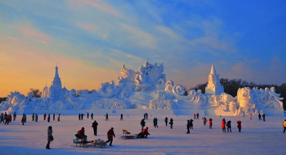 Harbin International Ice And Snow Sculpture Festival (PHOTOS