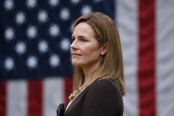 """Amy Coney Barrett and the """"women can have it all"""" trap."""