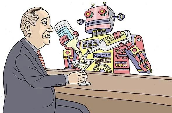 bartending robots monsieur the