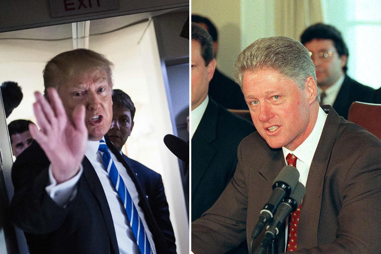 Donald Trump Sounds Like Bill Clinton When He Lies About