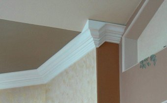 chair rail upside down wedding venue covers and sashes crown molding projects this project involved stacking the baseboard is installed extends below