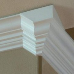 Chair Rail Upside Down Bike Beach Holder Crown Molding Projects This Project Involved Stacking The Baseboard Is Installed And Extends Below