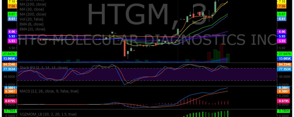 $HTGM, Premarket, Trading, Plan