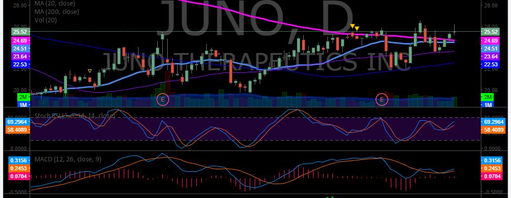 $JUNO, Chart, Swing Trading